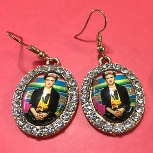 Jewelry - FRIDA KAHLO NOVELTY EARRINGS